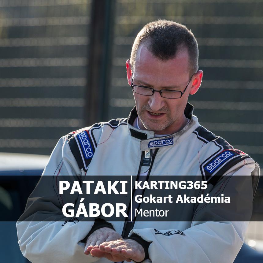KARTING365 Gokart Akadámia_Pataki Gábor mentor