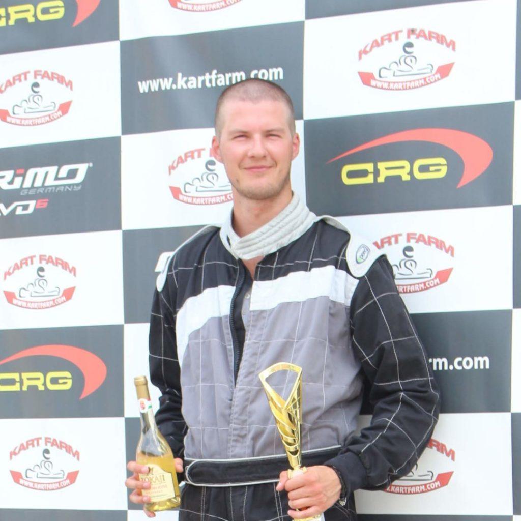 Varga Zsolt gokartversenyző_KARTING365 Racing Team