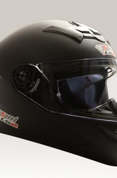 Speed LS2 Rookie bukósisak, matt fekete