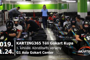 KARTING365 Téli Gokart Kupa - G1 Asia Gokart Center