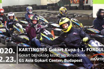 KARTING365 Gokart Kupa 2020. 1. forduló