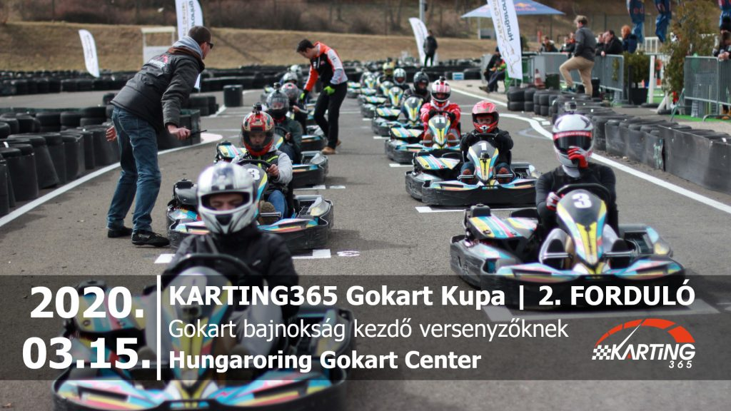 KARTING365 Gokart Kupa 2020. 2. forduló | Hungaroring Kart Center