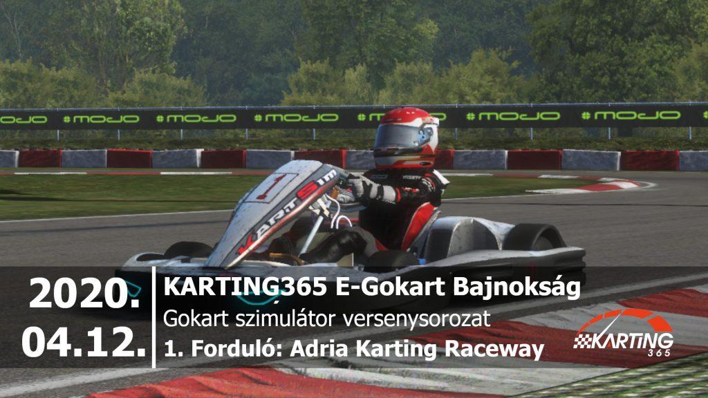 Adria Karting Raceway | KARTING365 E-Gokart Bajnokság