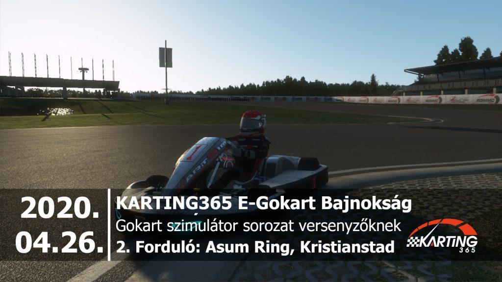 Asum Ring, Kristianstad | KARTING365 E-Gokart Bajnokság