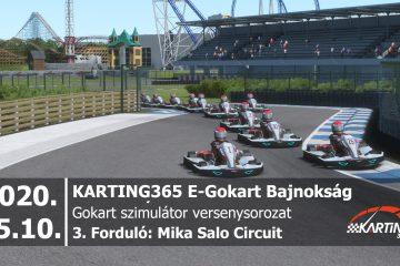 Mika Salo Circuit | KARTING365 E-Gokart Bajnokság
