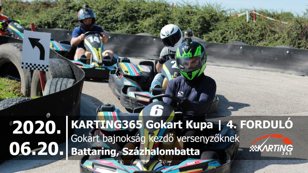 KARTING365 Gokart Kupa 2020. 4. forduló | Battaring
