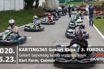 KARTING365 Gokart Kupa 2020. 3. forduló | Kart Farm