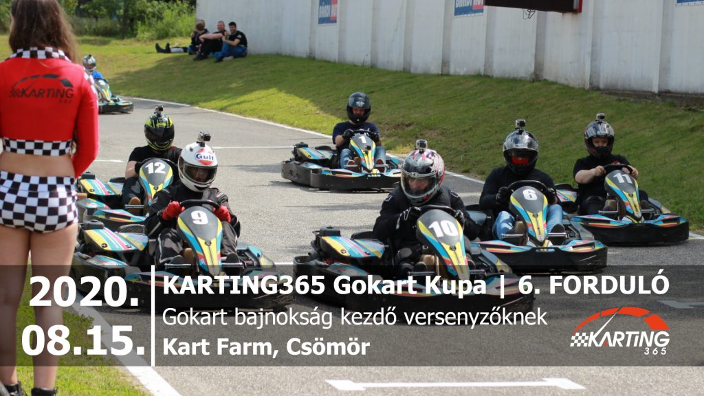 KARTING365 Gokart Kupa 2020. 6. forduló | Kart Farm