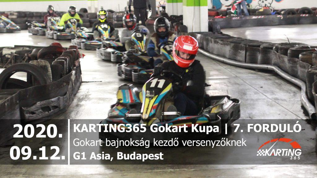 KARTING365 Gokart Kupa 2020. 7. forduló | G1 Asia