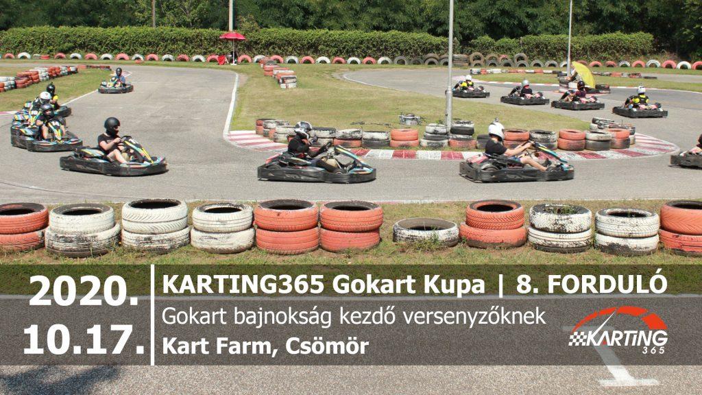 KARTING365 Gokart Kupa 2020. 8. forduló | Kart Farm