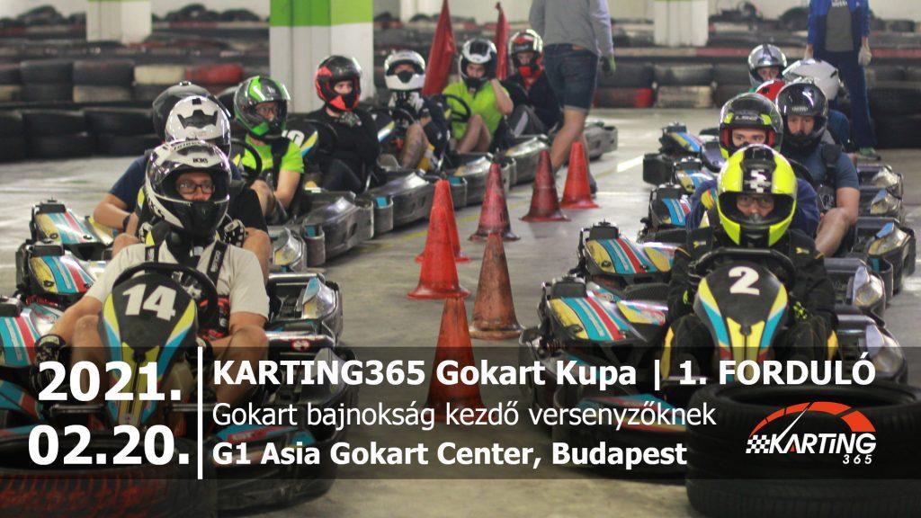 KARTING365 Gokart Kupa_2021.01 G1 Asia