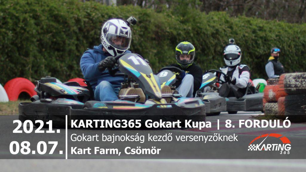 KARTING365 Gokart Kupa_2021.08 Kart Farm