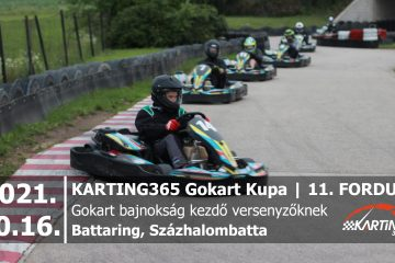 KARTING365 Gokart Kupa_2021.11 Battaring